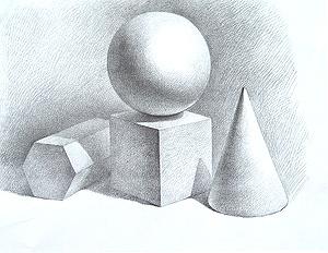 素描怎么画调子图片